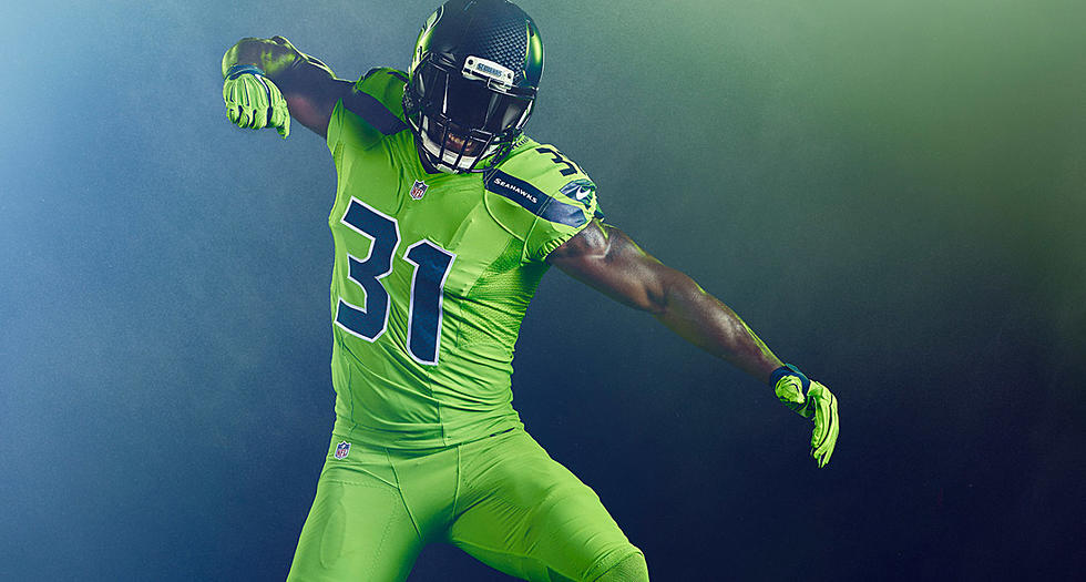 best loved 5c42d fd04a Seahawks Color Rush Jersey Design Released