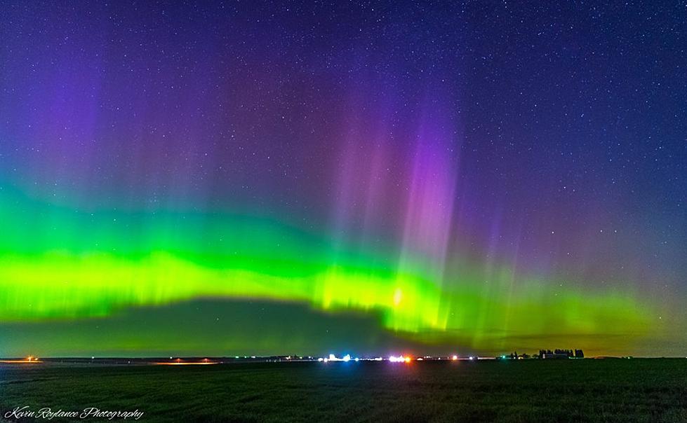 Northern Light Visible in Eastern Washington Tonight