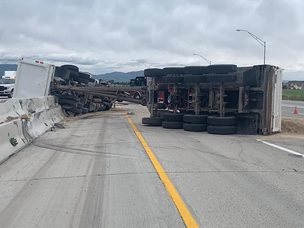 I-84 At Standstill Because Of Dump Truck Rollover