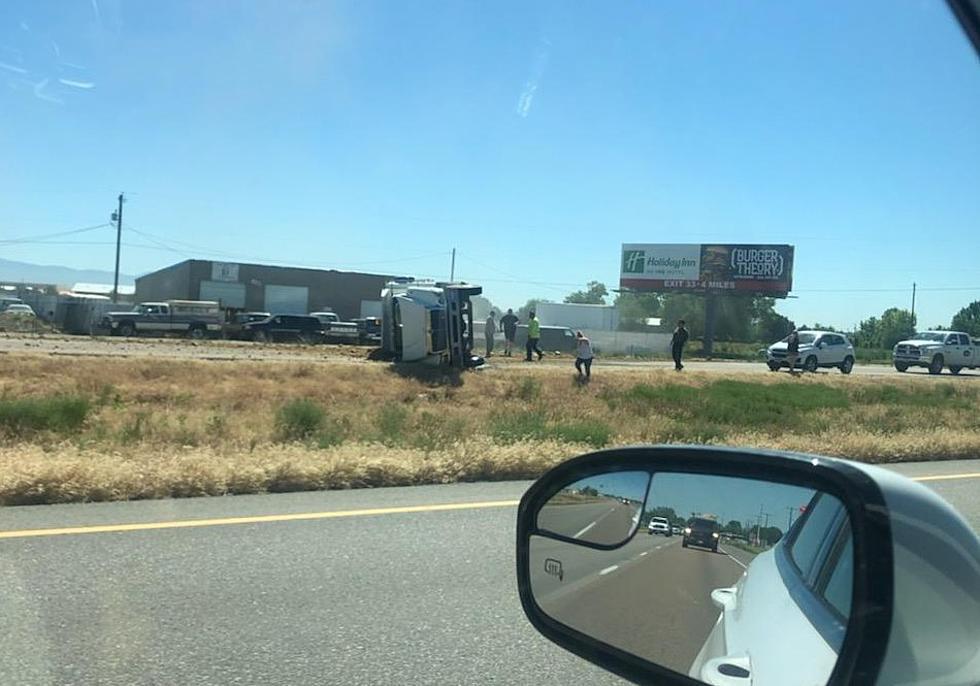I-84: Semi Truck Crash, All Lanes Blocked