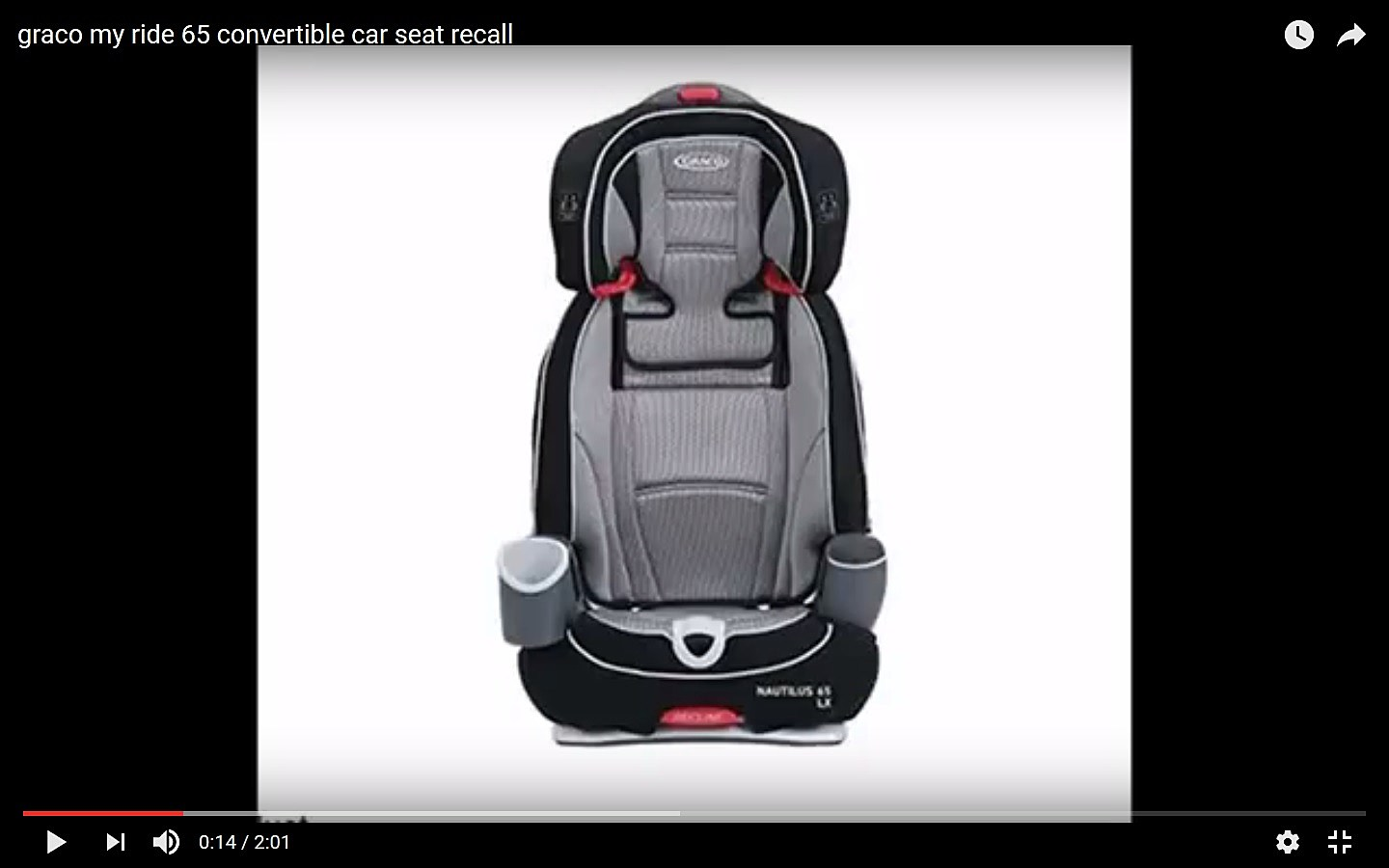 Over 25 000 Child Seats Recalled Due To Safety Concerns