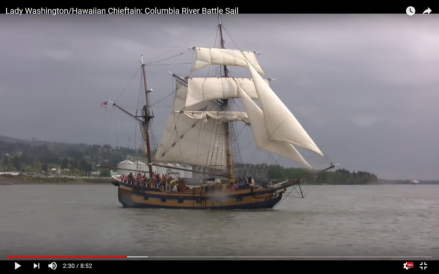 Pirates of The Caribbean Ships Coming to the Oregon Coast