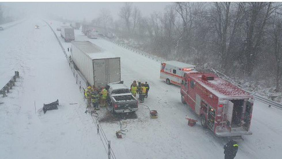 65 Vehicles Involved in 3 Separate Crashes Along I-94