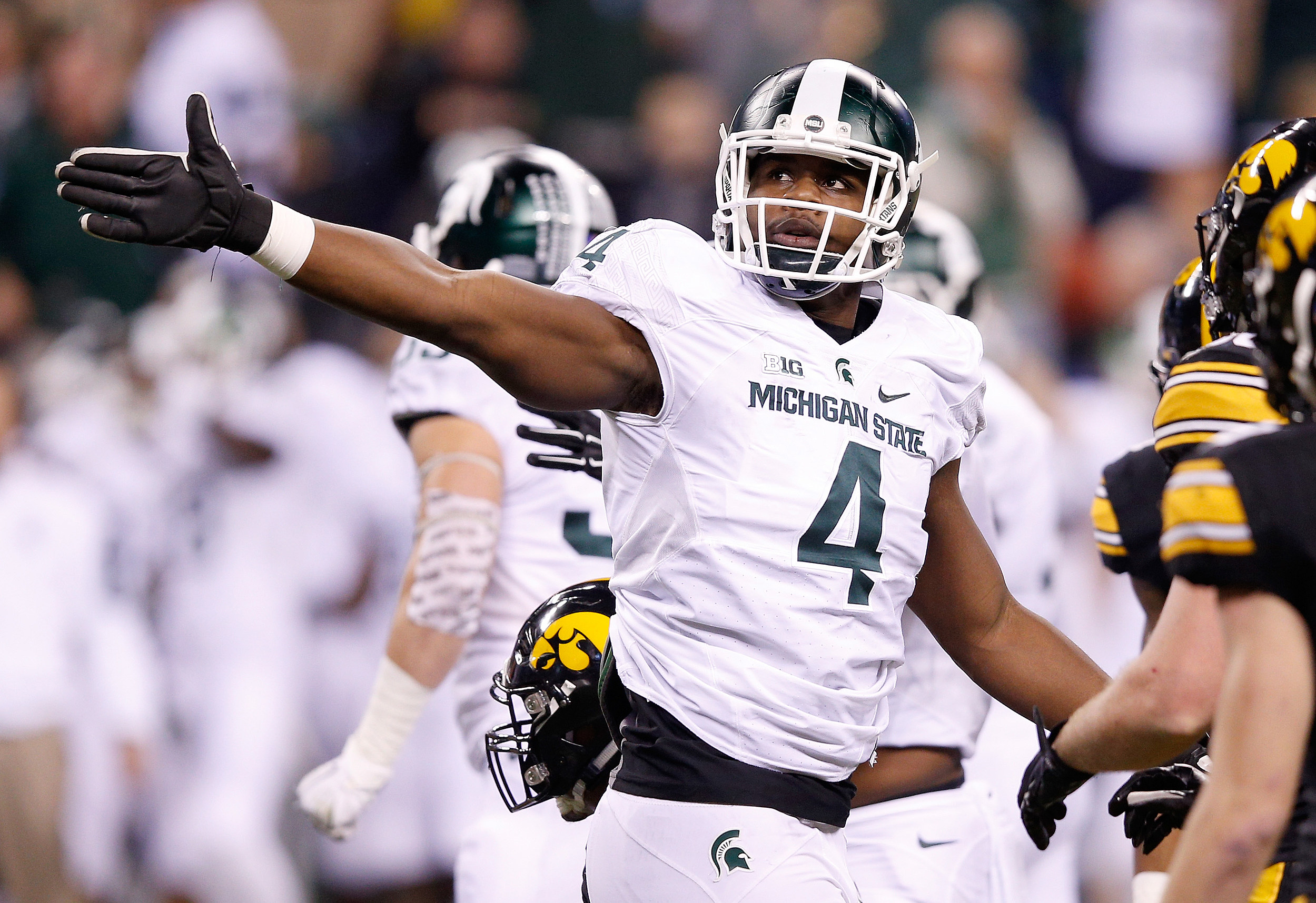 473277730 Former Spartan McDowell Waived By NFL's Seahawks