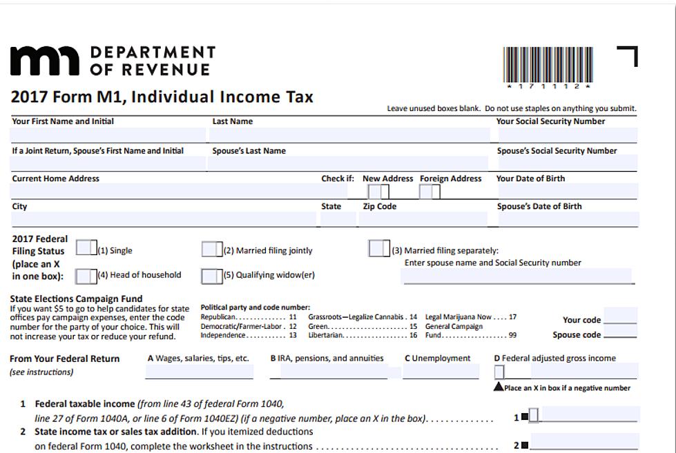 Minnesota Releases 2018 Income Tax Brackets