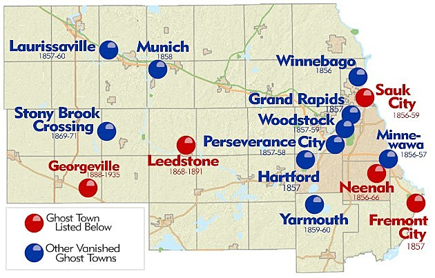 Ghost Towns: Stearns County Towns that Disappeared from the Map ...