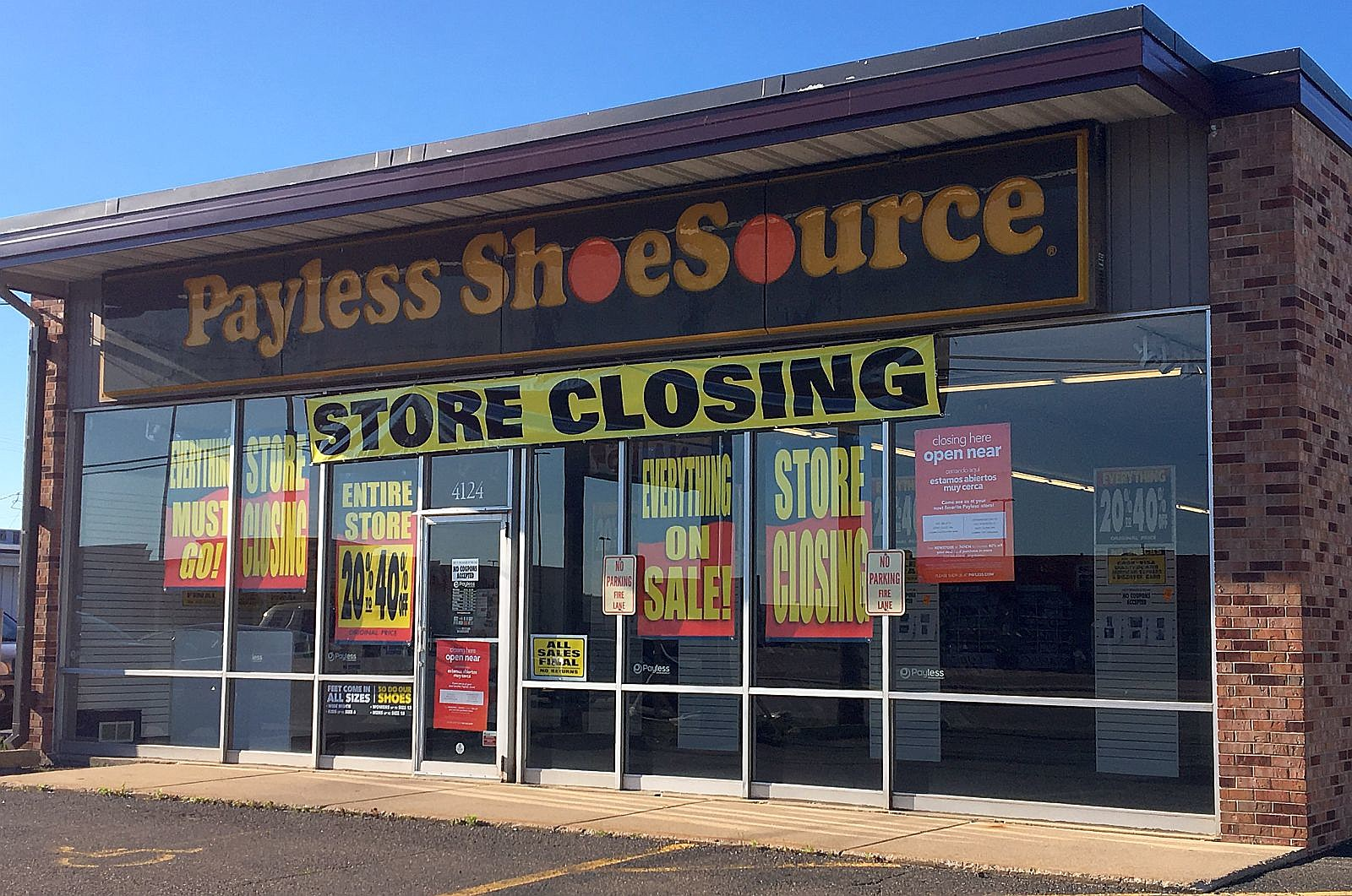 Payless Shoe Stores Liquidating in 2019