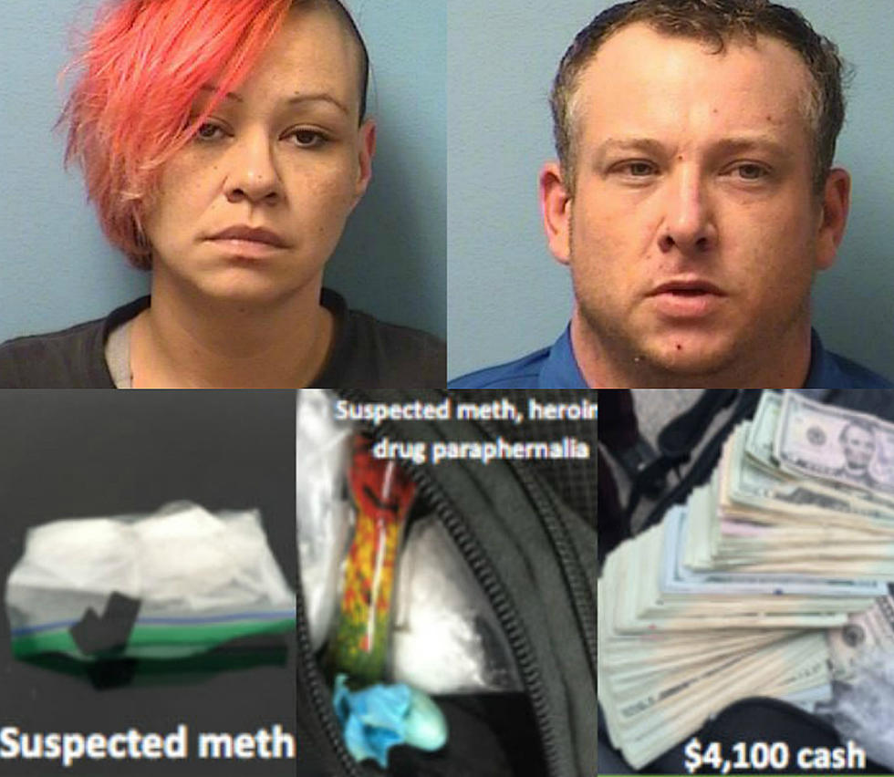 Two Arrested for Possession of Meth After Arrest in Freeport