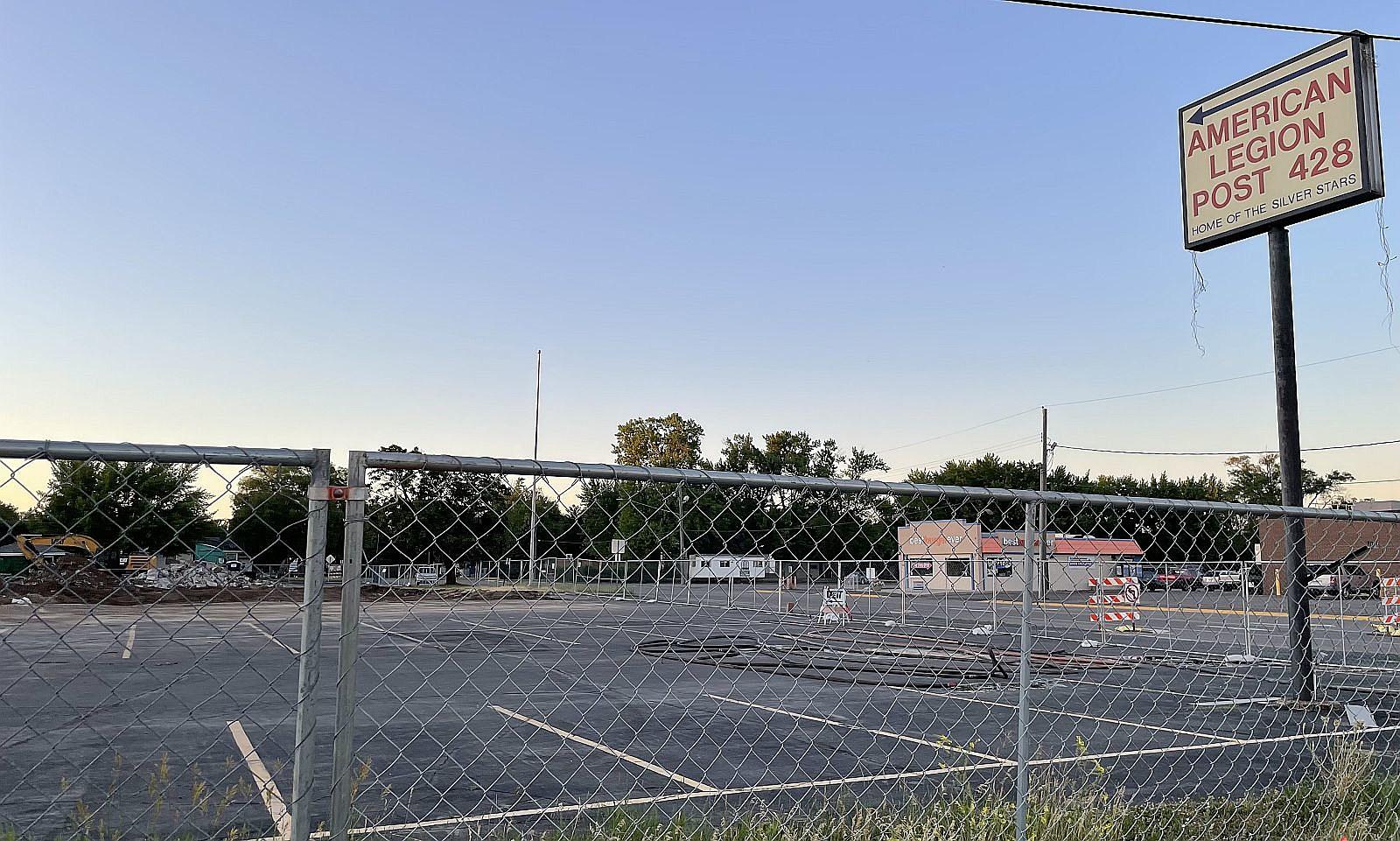 Waite Park American Legion Building Reduced to Rubble