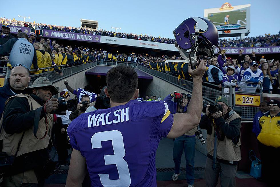 online store a834d 0b505 Minnesota Vikings Release Blair Walsh