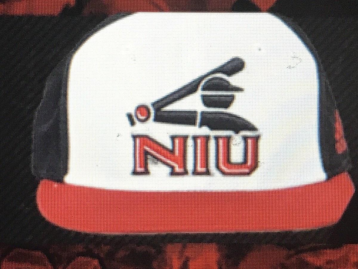 bb8c151e2bdc9 The NIU Baseball Team Will Wear These White Sox Themed Caps