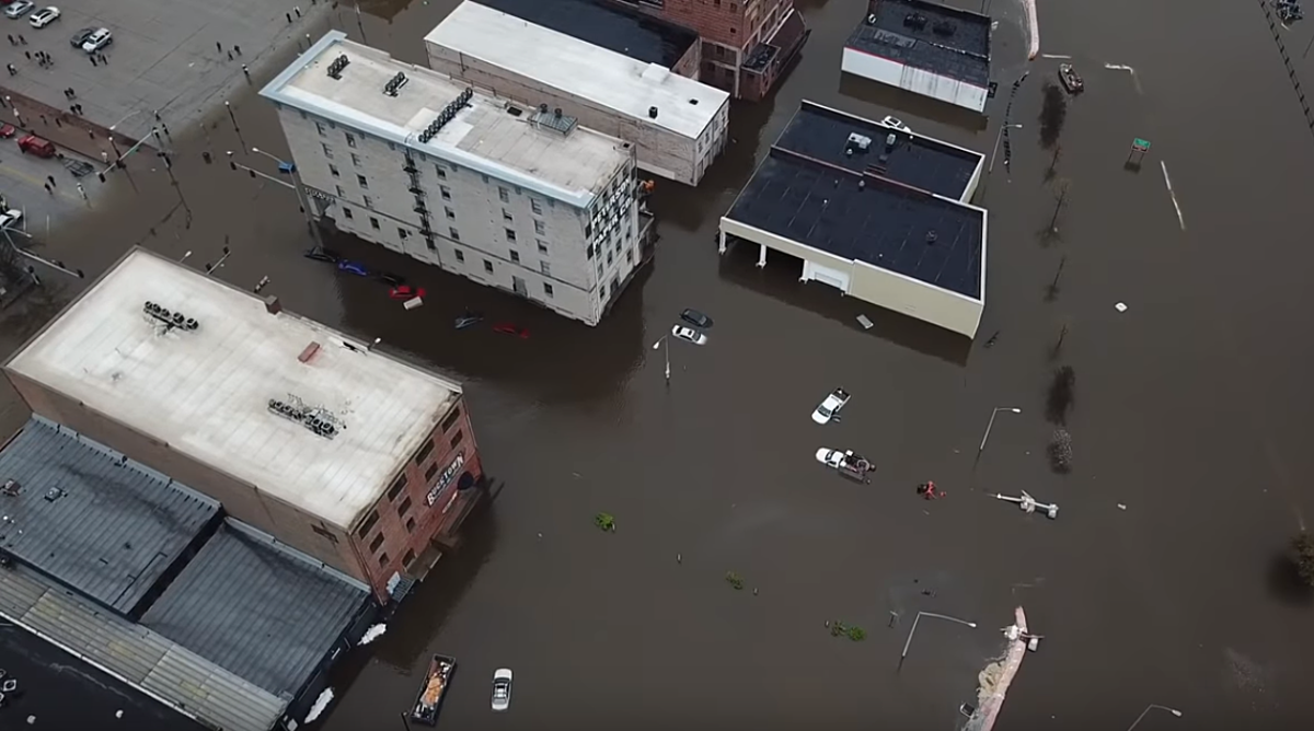 Mississippi River in Quad Cities Has Reached Record Level