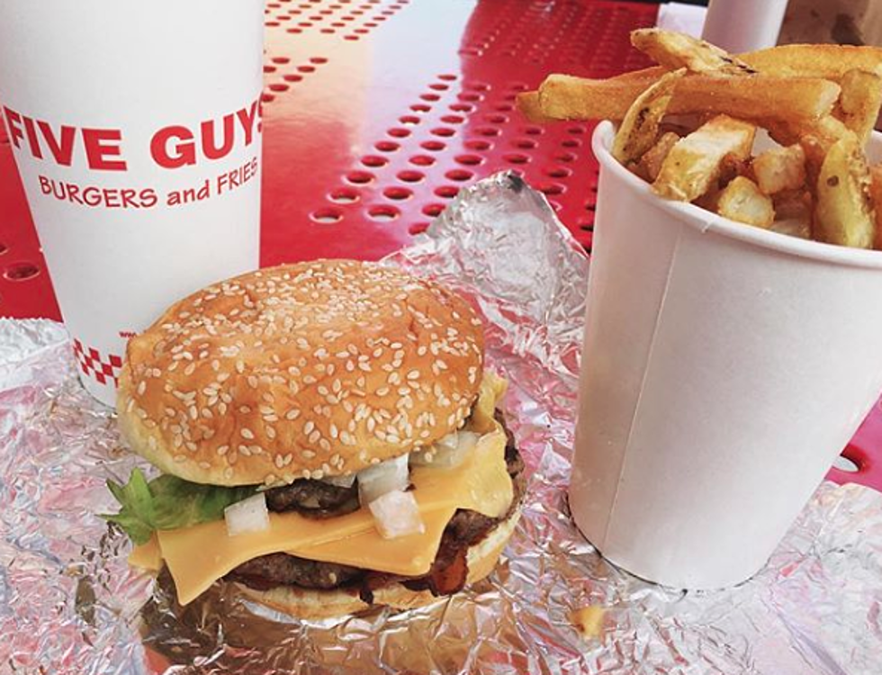 Another Five Guys Restaurant Is Coming To The Corridor