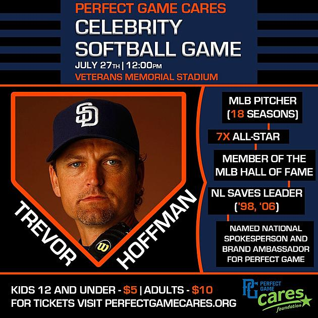 Perfect Game Announces Celebrity Softball Game