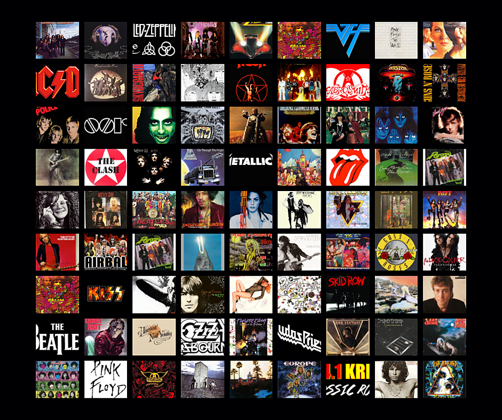 The Top Classic Rock Riffs - Decade by Decade