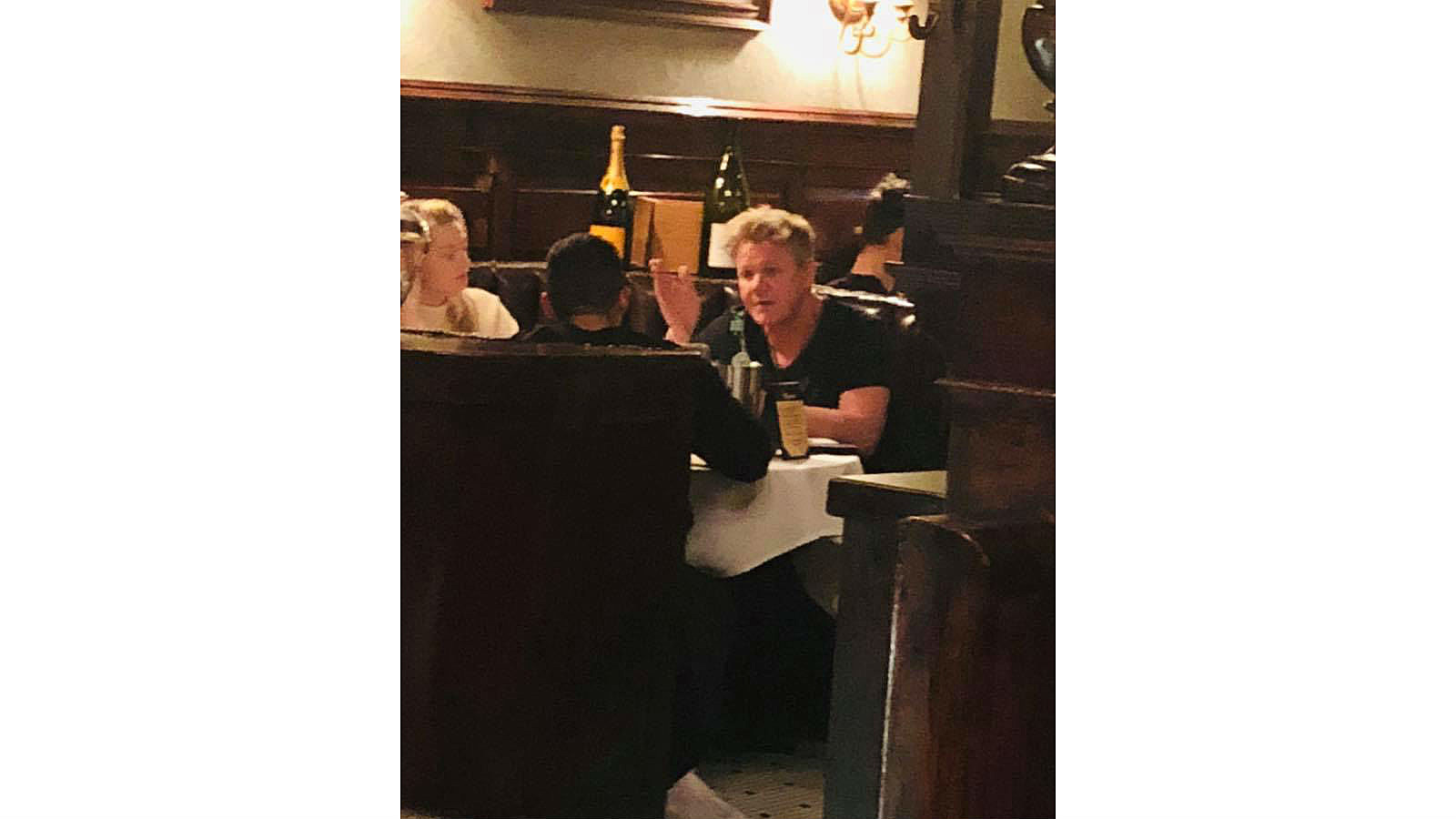 Vasis Halloween 2020 Waterbury Chef Gordon Ramsey Shoots TV Show at Waterbury Restaurant, Dines