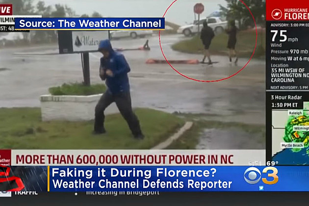 Social Media Accuses Weather Channel Of 'Fake News' Scam