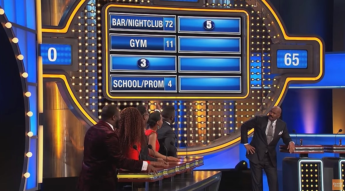 The Ever-Popular Connecticut? Not On 'Family Feud'