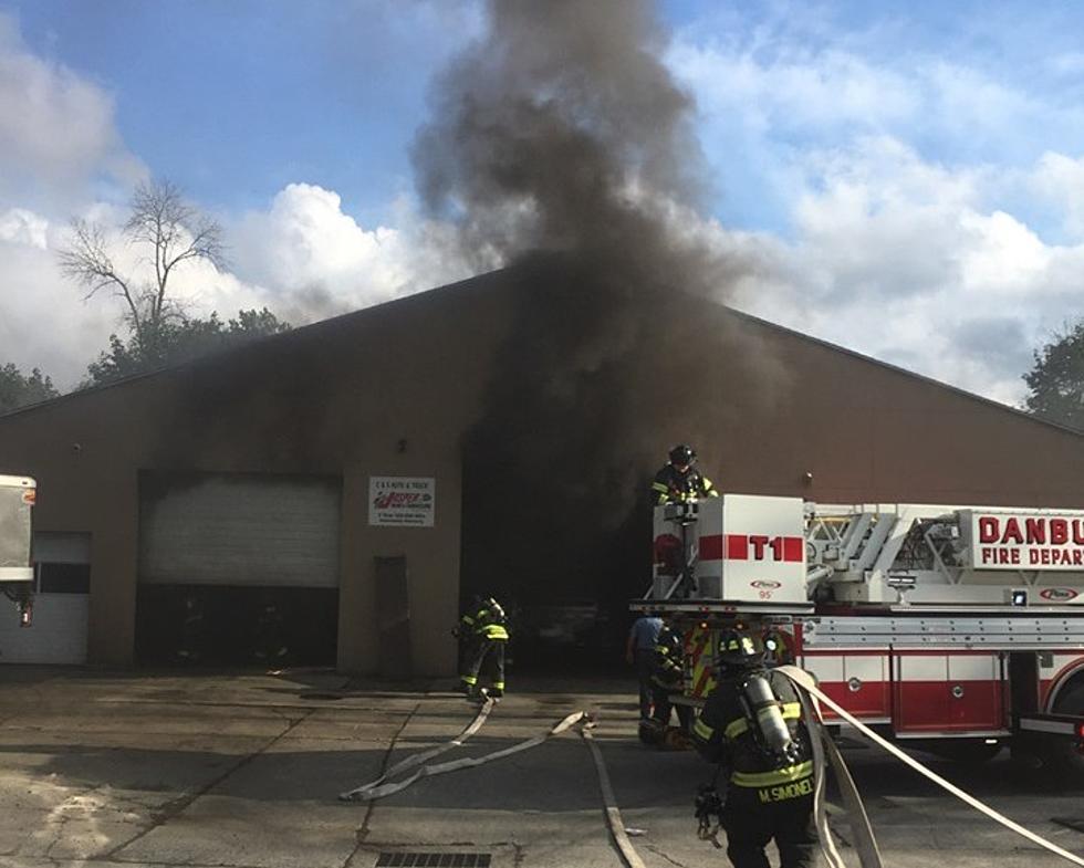 Danbury Auto Body Shop Damaged In Labor Day Fire