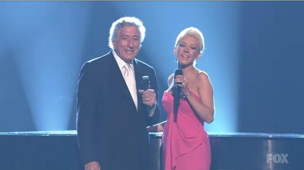 A Classy Duet With Tony Bennett And Christina Aguilera