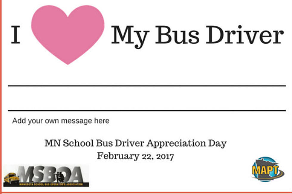 Love Your School Bus Driver Bus Driver Appreciation Day Feb 22nd
