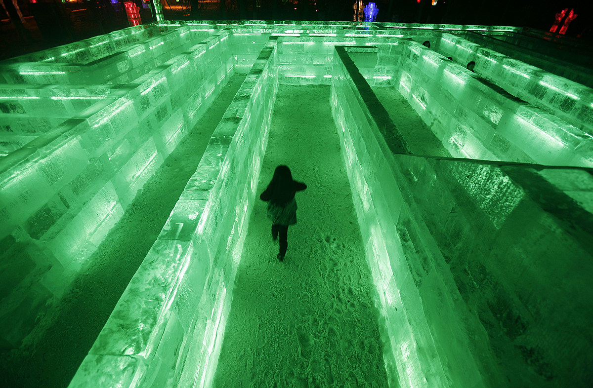 Biggest Ice Maze in the U.S. Opening in Minnesota