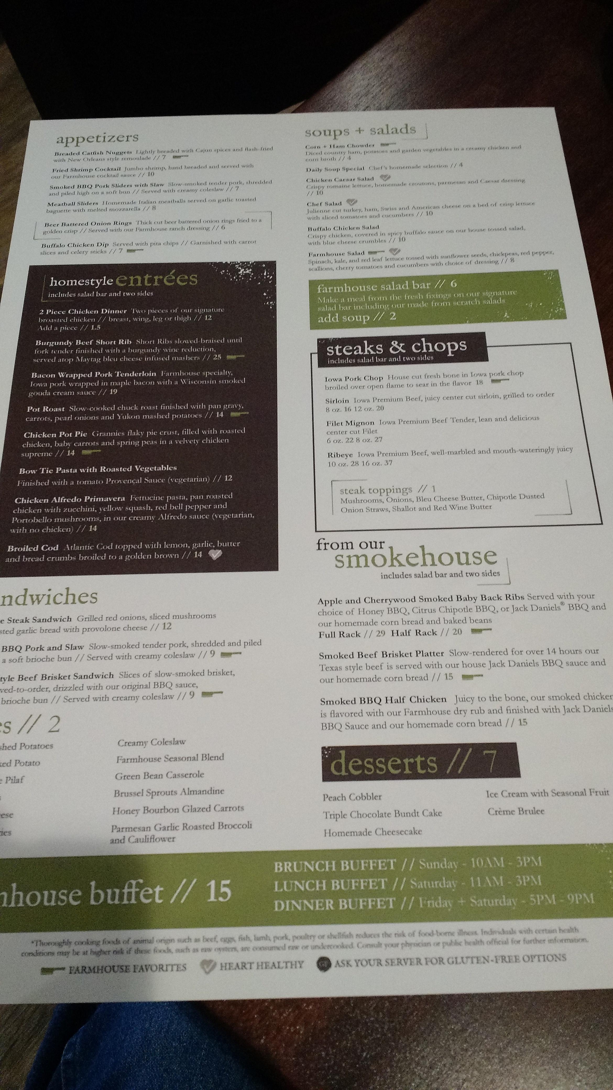 Farmhouse Kitchen Opens At Q Casino In Dubuque