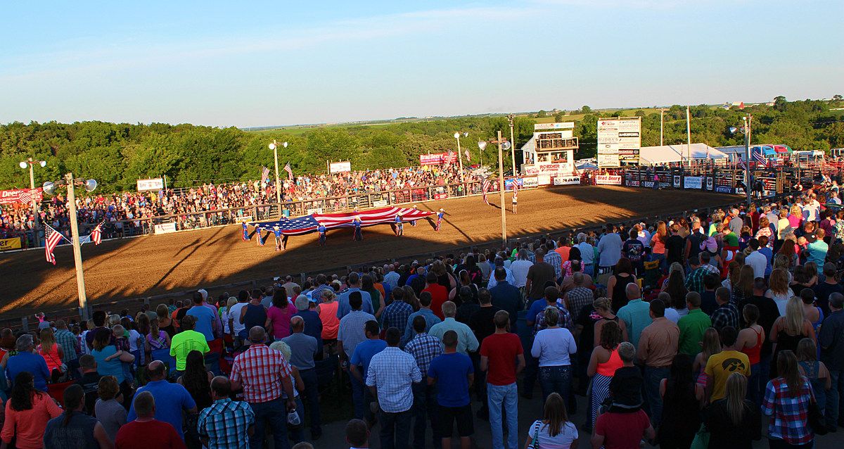 Jackson County Pro Rodeo In Bellevue