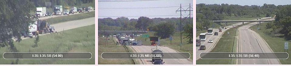 I-35 Has Re-Opened To Traffic After MnDOT Truck Hit