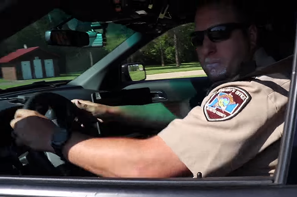 Olmsted County Sheriff's Deputy Caught in the Act!