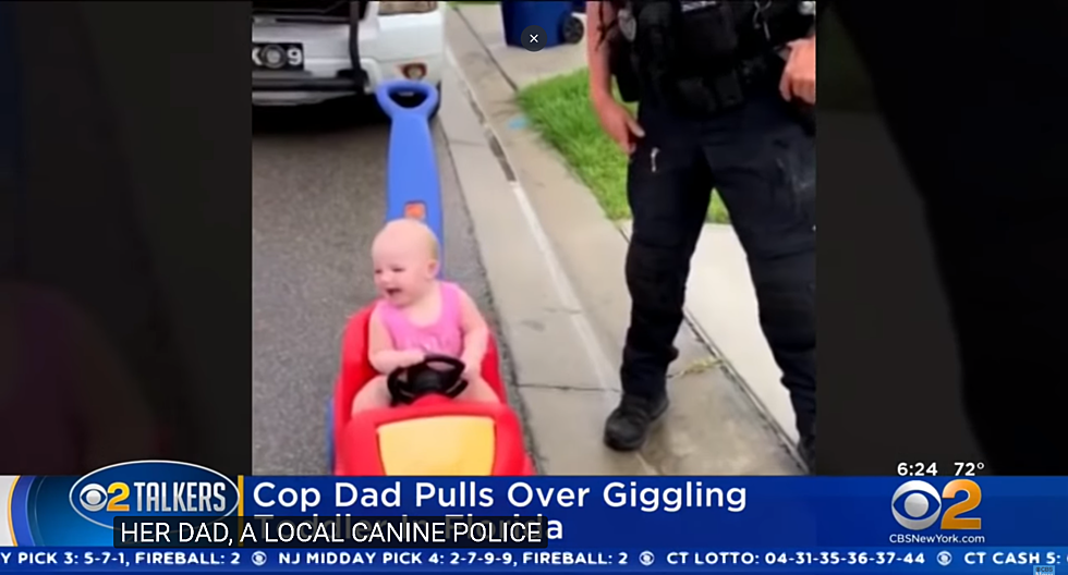 Baby Pulled Over by Police Officer [WATCH]