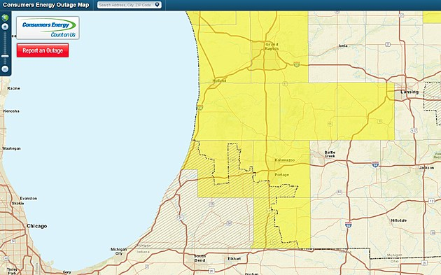 Battle Creek Power Outage Map.Power Outages In Kalamazoo And Surrounding Areas
