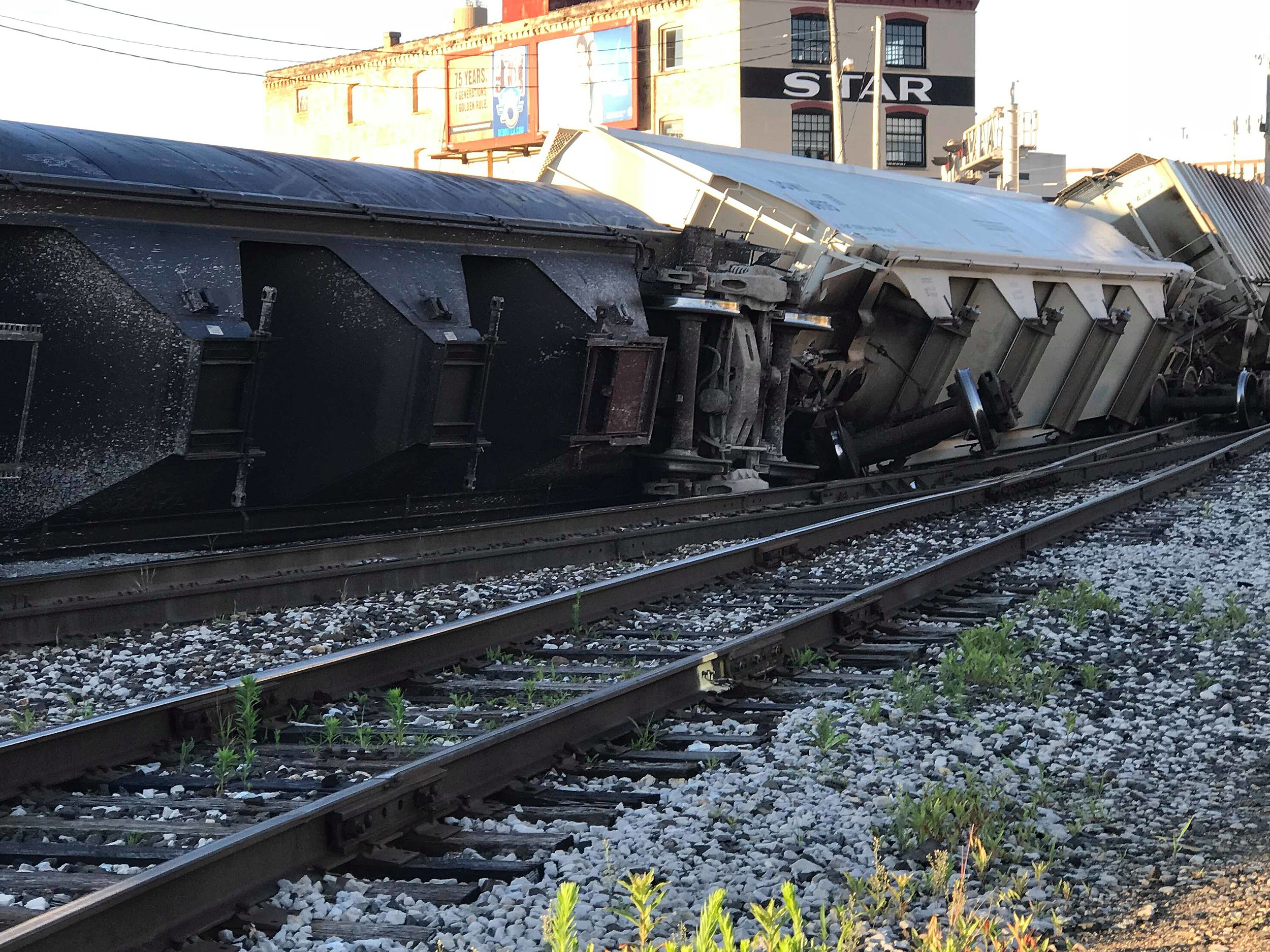 Video Aftermath of Horrific Train Accident in Comstock