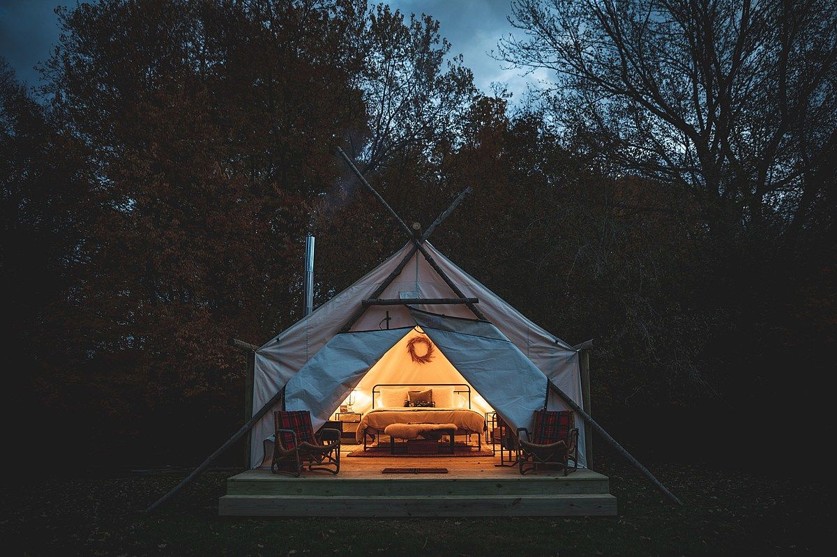 Luxury Meets Camping In South Haven