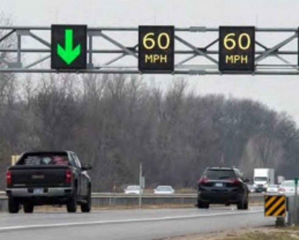 Changing Speed Limit Signs To Be Installed On I-94 Near Van