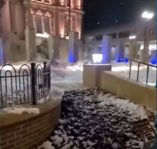 Troy Ohio Gets Covered In Bubbles After Prank Goes Too Far