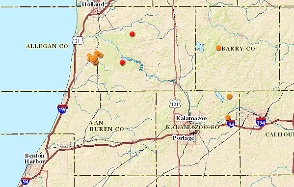 Morel Mushroom Michigan Map.6 Spots To Hunt For Morel Mushrooms In West Michigan