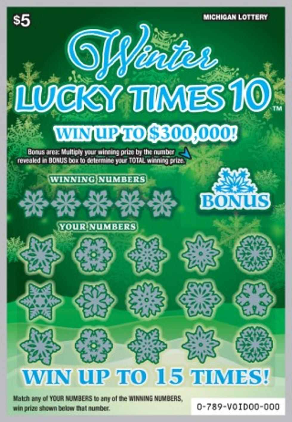 Michigan Lottery Gives You 'Winter Lucky Times 10'