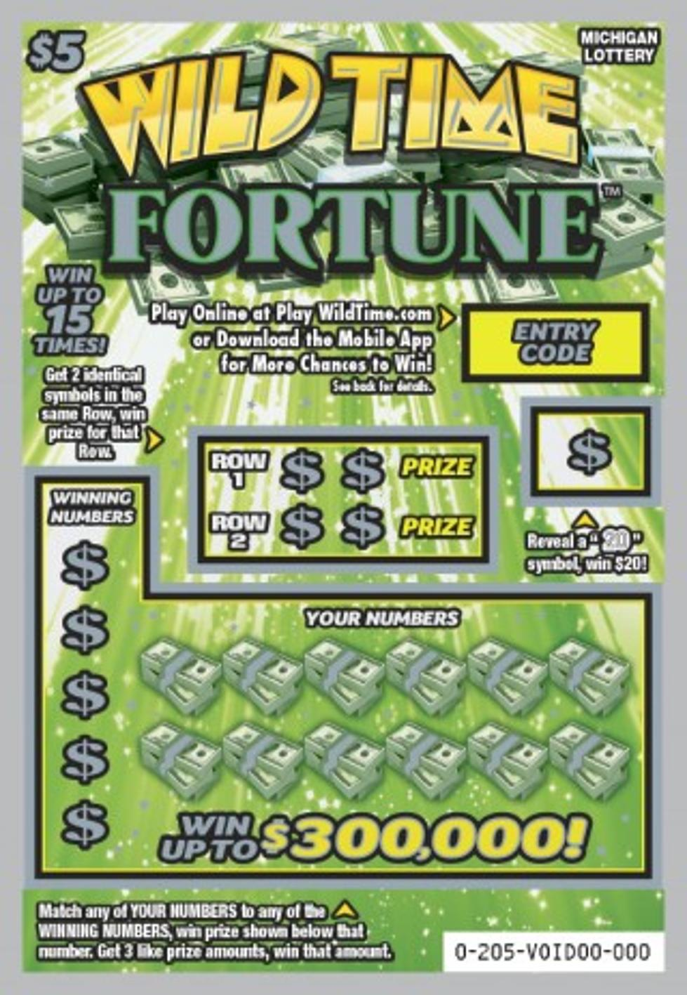 Score Wild Time Fortune Lottery Tickets From MI  Lottery