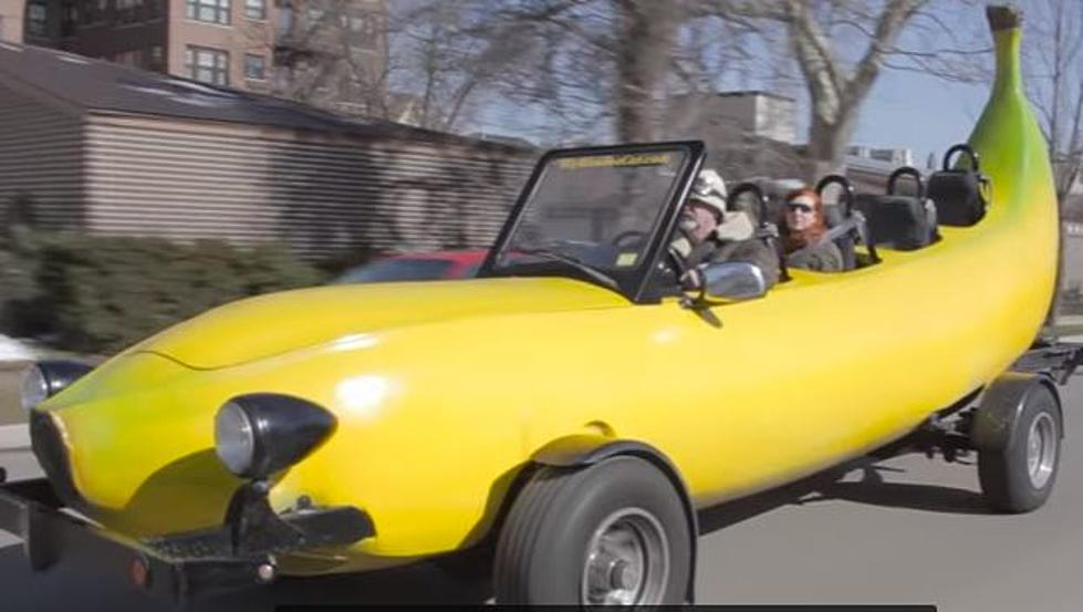 Is The Famous Big Banana Car Of Kalamazoo For Sale
