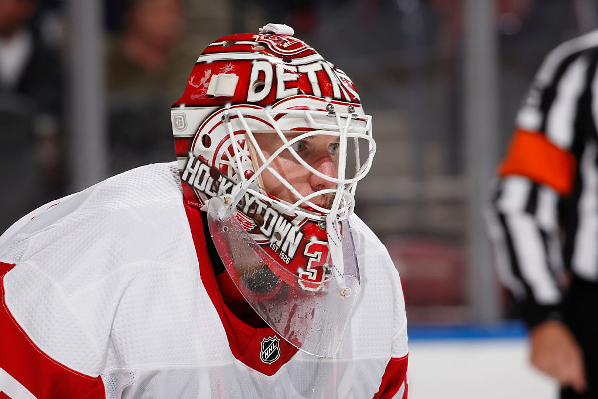 promo code 5c03a a7221 Jimmy Howard Selected To Represent Red Wings At All Star Game