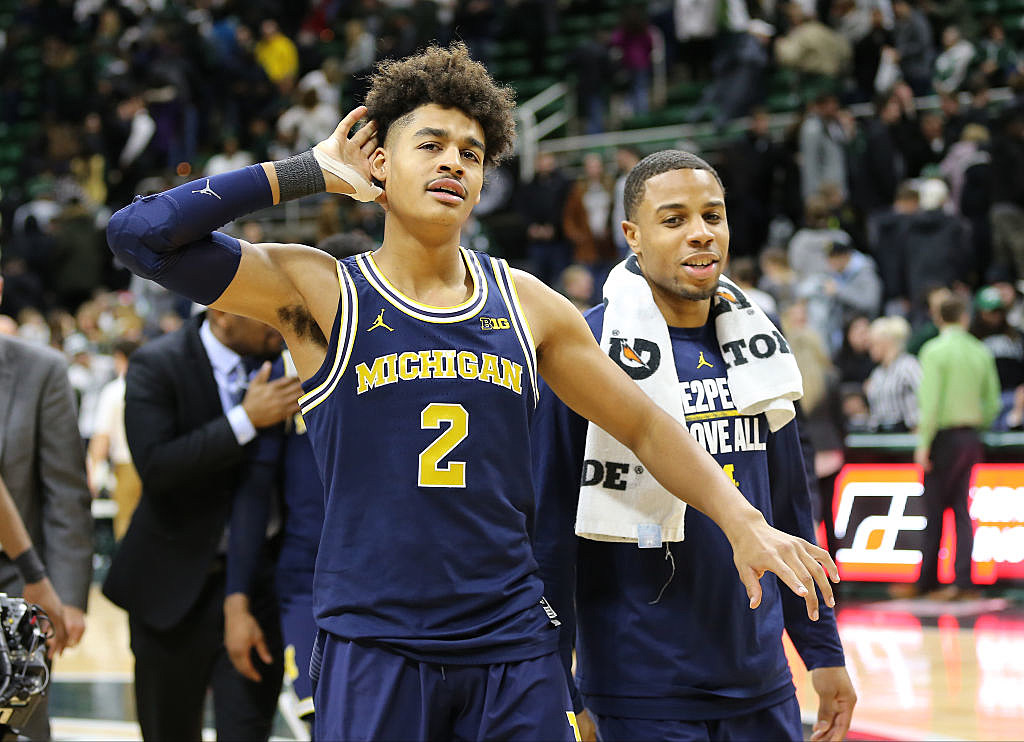 027c1f8709b4 Michigan Basketball To Wear Throwback Jersey Against Spartans