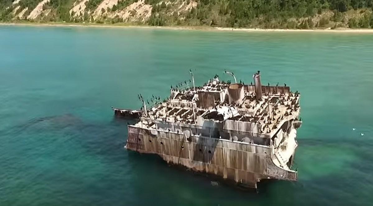 Abandoned Michigan The Wreck Of The Francisco Morazan