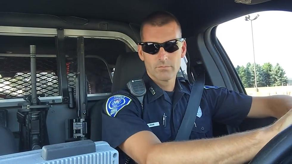 IONIA DPS OFFICER MIKE CRONK: POLICE LIP SYNC BATTLE