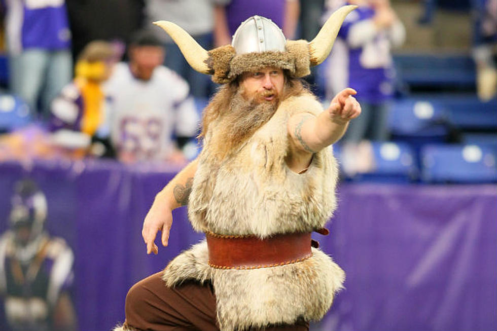 The Minnesota Vikings Mascot Ragnar Is Holding Out For More