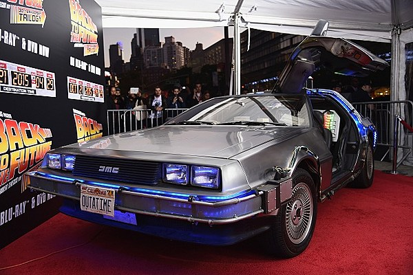 great scott  production on the delorean set to resume