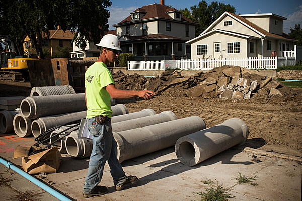 city of lansing combined sewer overflow work to resume