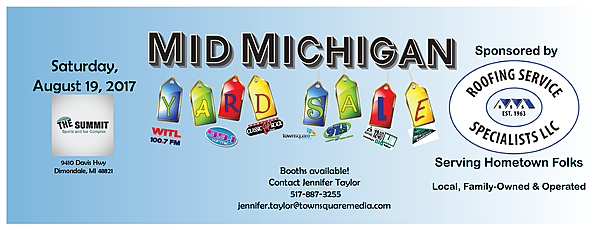 Be A Vendor At This Weekend S Mid Michigan Yard Sale