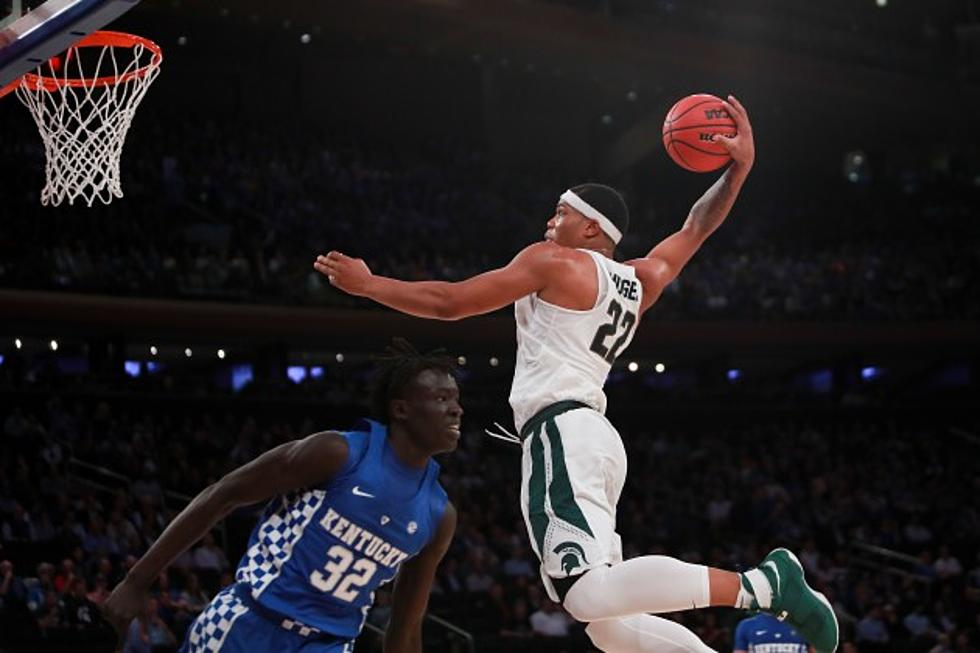 best service 95f1e eef56 Michigan State's Miles Bridges makes cover of Sports Illustrated