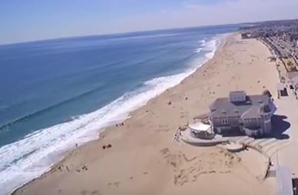 Watch This Delightful Drone Footage Of Sunny Hampton Beach In New Hampshire